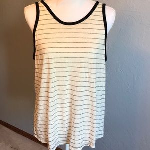 Old Navy Women's Jacquard scoop-back tank top